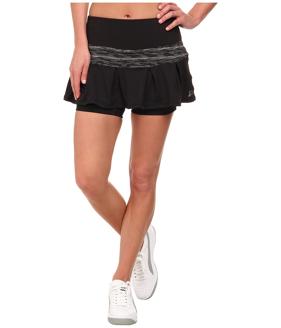 Skirt Sports - Lioness Skirt (Black/Streak) Women's Skort