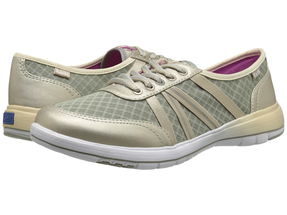 Keds - Fuse (Champagne Canvas/Mesh) Women's Lace up casual Shoes
