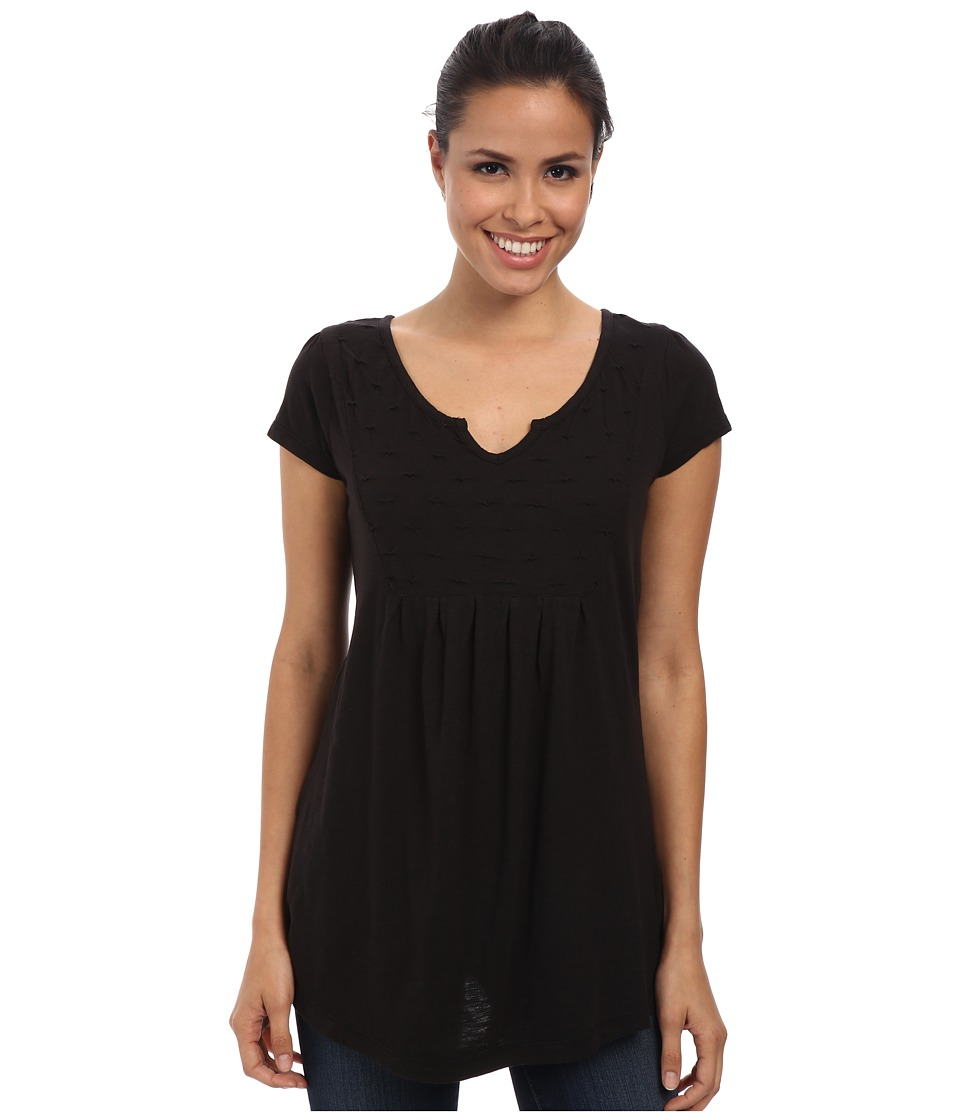 Aventura Clothing - Tiana S/S Top (Black) Women