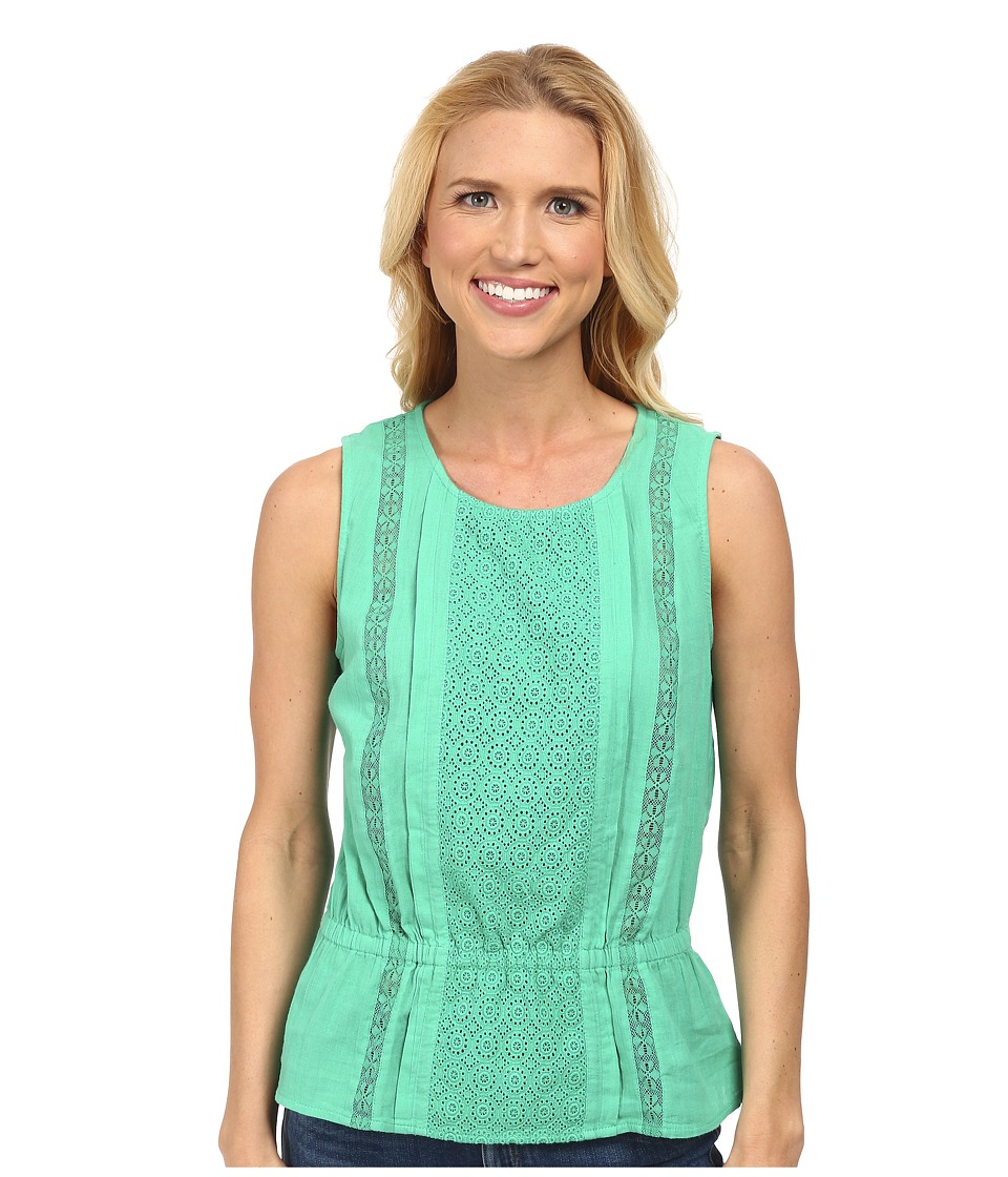 Prana - Lizzy Top (Cool Green) Women's Sleeveless