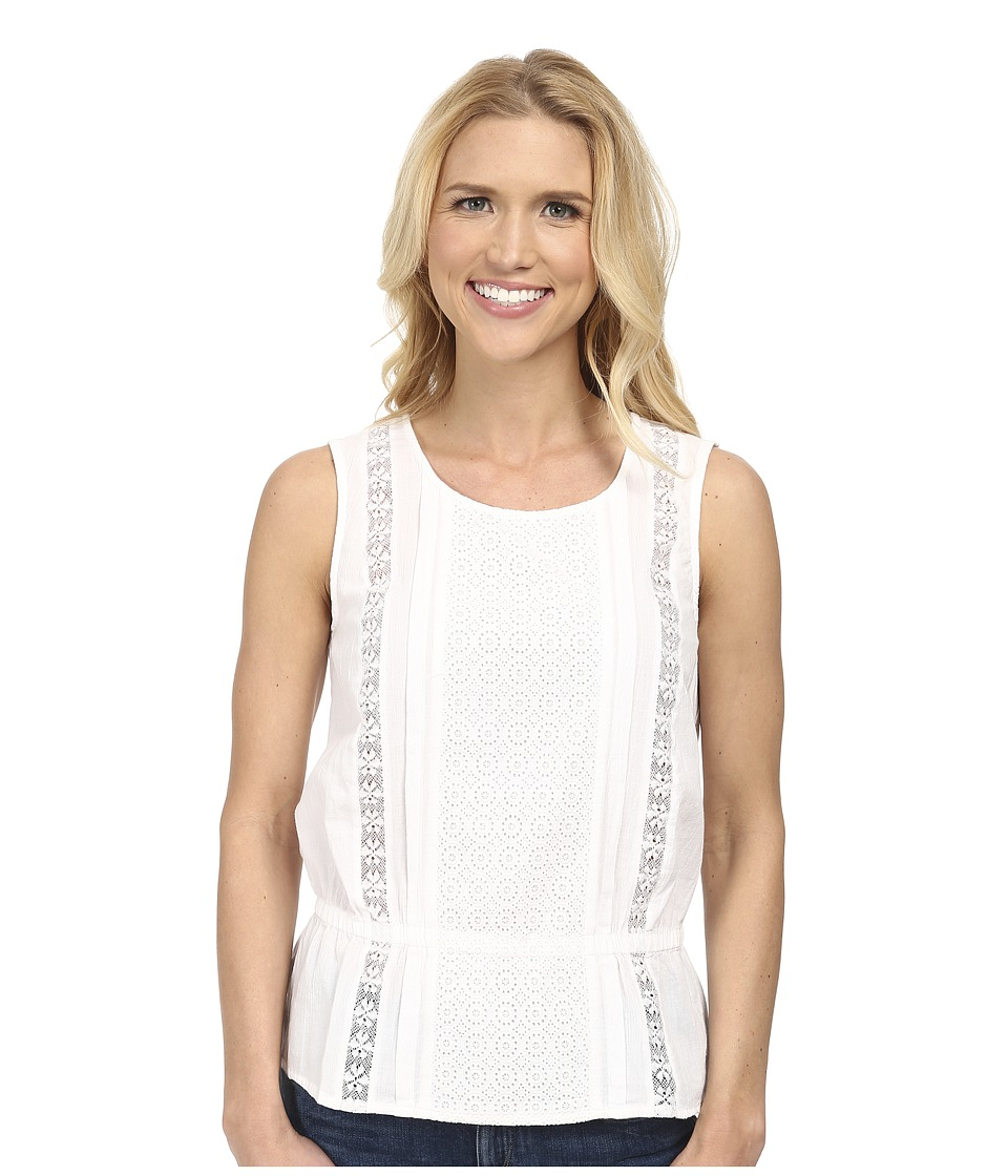 Prana - Lizzy Top (White) Women's Sleeveless