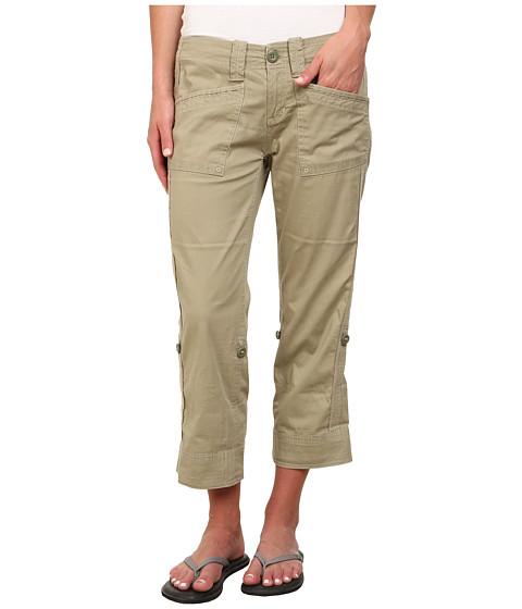 Aventura Clothing - Arden Standard Rise Capri (Silver Sage) Women