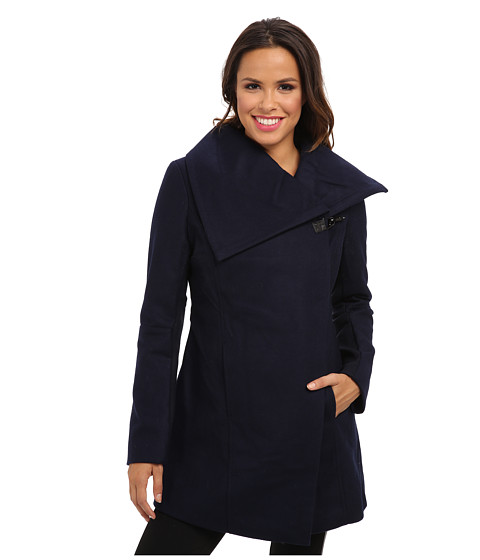 Sam Edelman - Clip Coat (Ink) Women's Coat