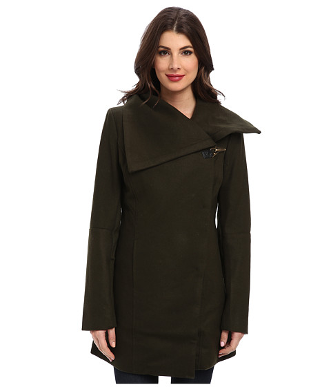 Sam Edelman - Clip Coat (Olive) Women