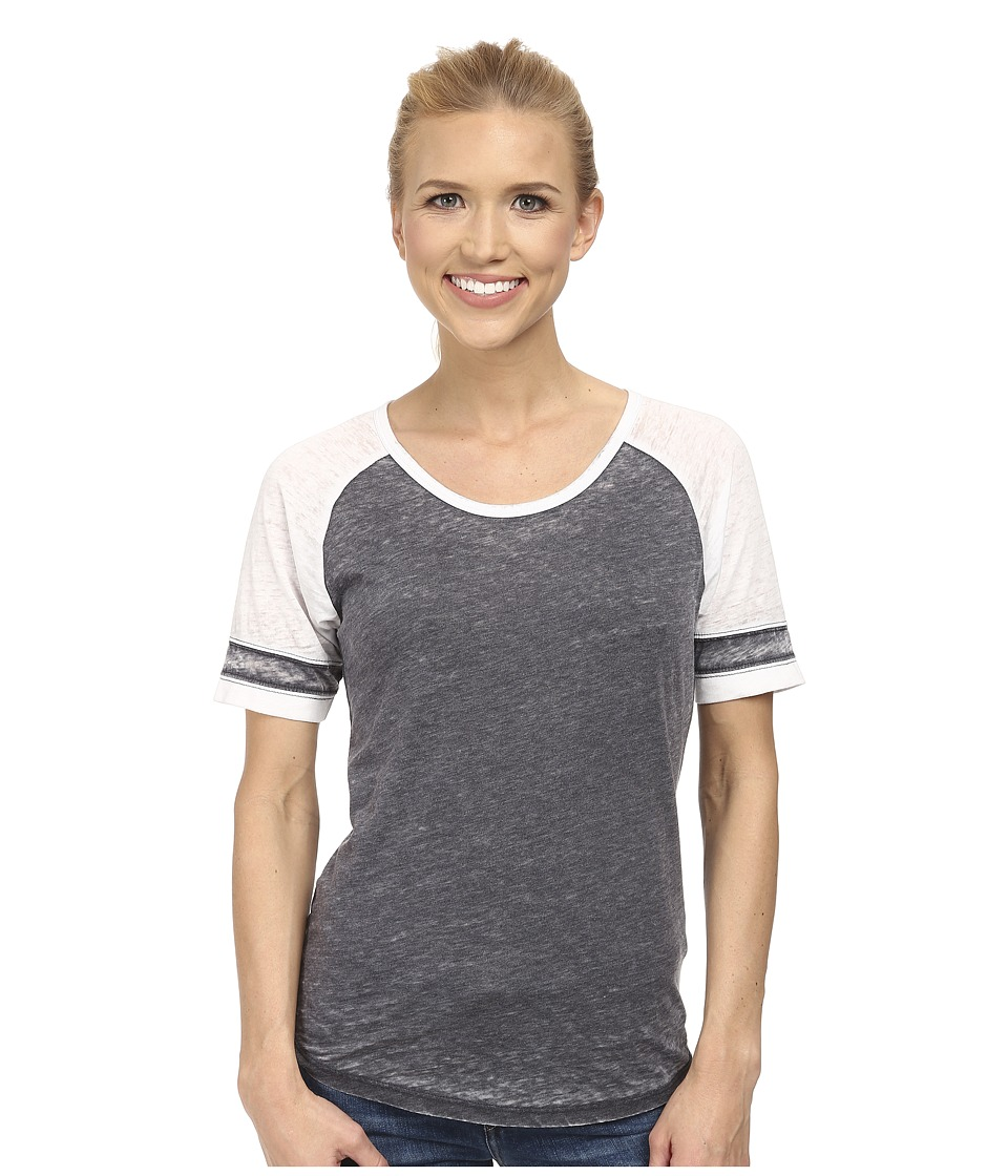 Prana - Cleo Tee (Coal) Women's Short Sleeve Pullover