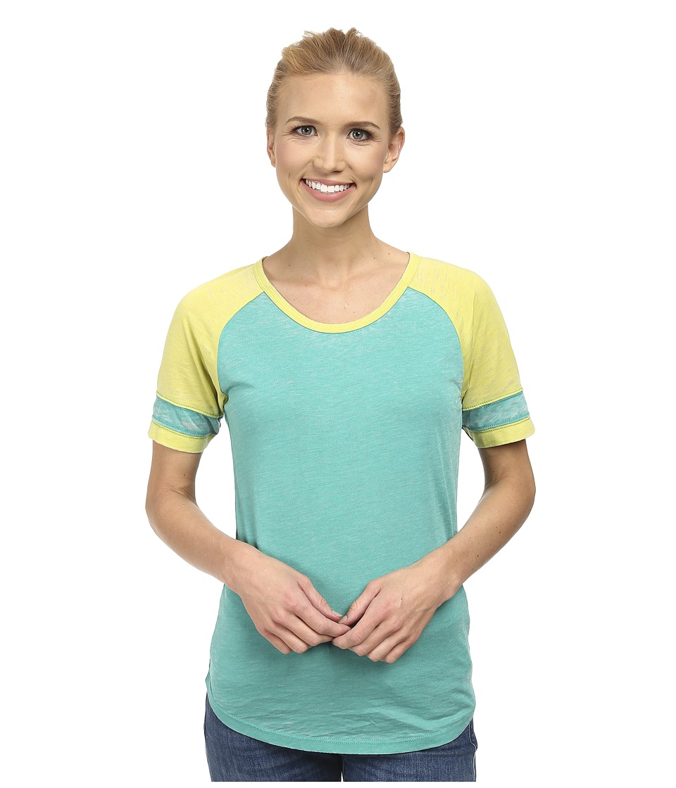 Prana - Cleo Tee (Dynasty Green) Women's Short Sleeve Pullover