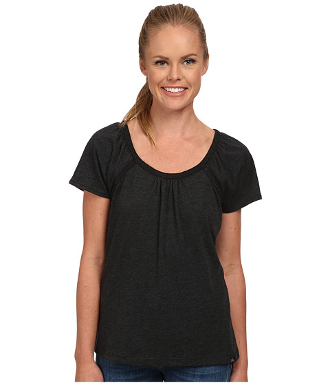 Prana - Kiki Top (Black) Women's Short Sleeve Pullover