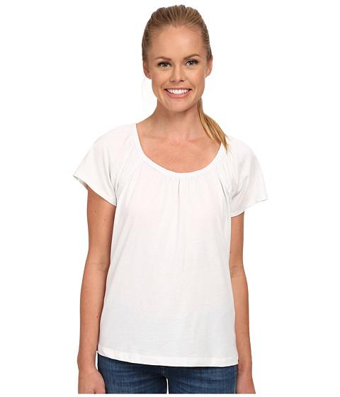 Prana - Kiki Top (White) Women's Short Sleeve Pullover
