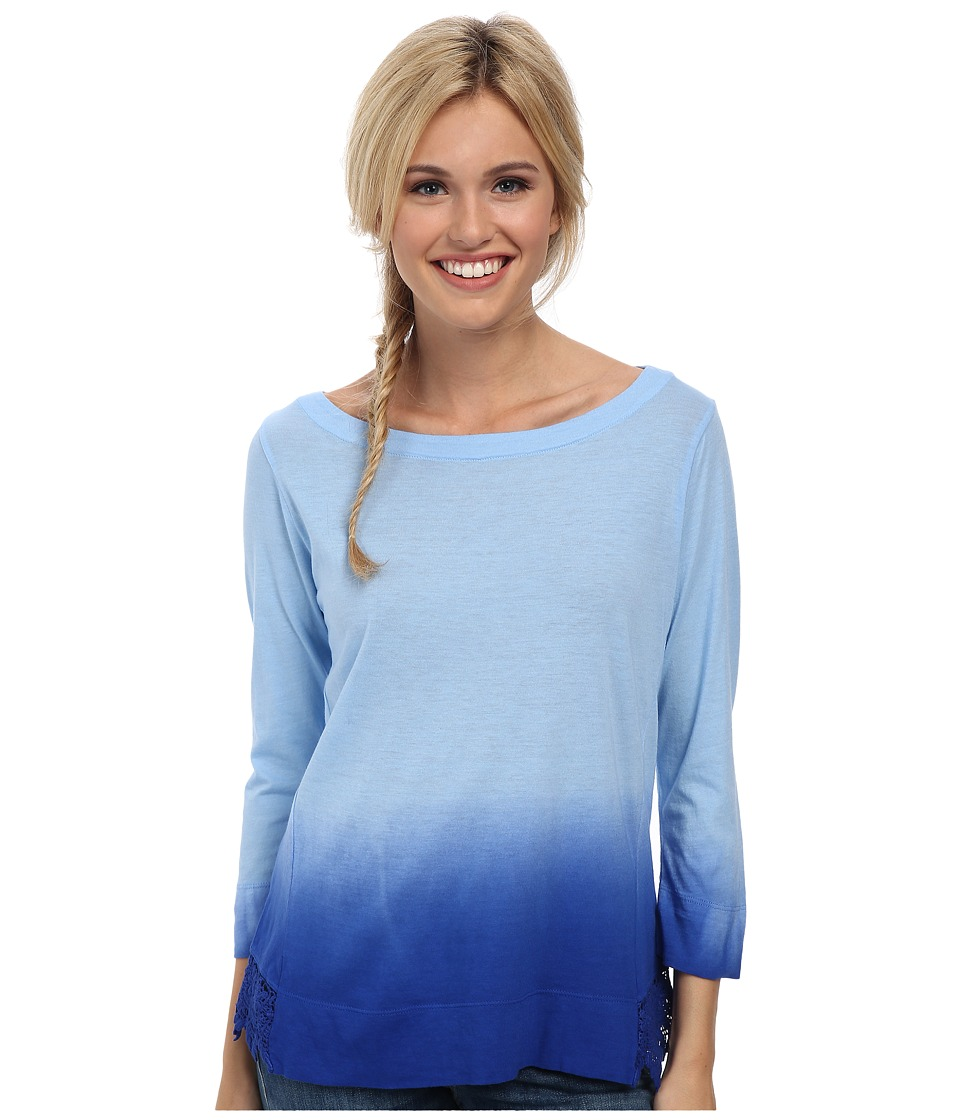 Prana - Deana Top (Blue Jay) Women's Long Sleeve Pullover