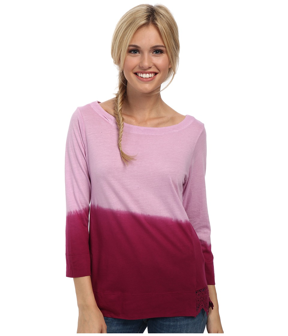 Prana - Deana Top (Plum Red) Women's Long Sleeve Pullover