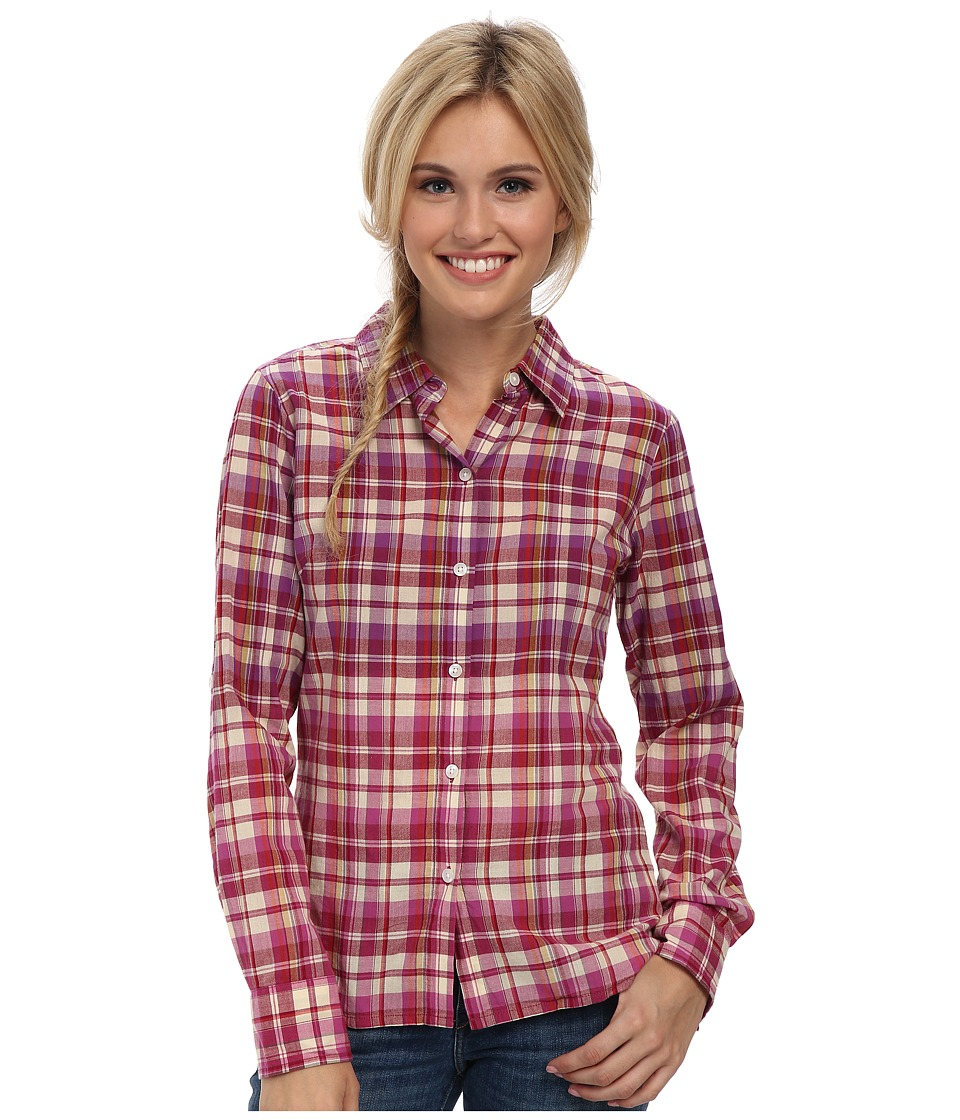 Prana - Britt Top (Vivid Viola) Women's Long Sleeve Button Up