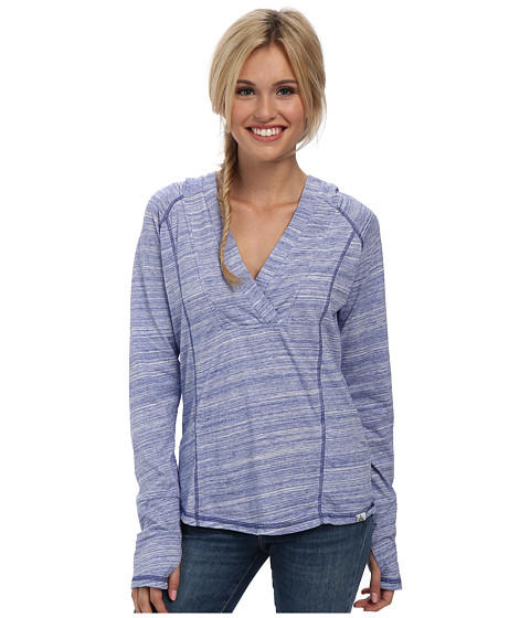 Prana - Demi Top (Blue Jay) Women's Long Sleeve Pullover