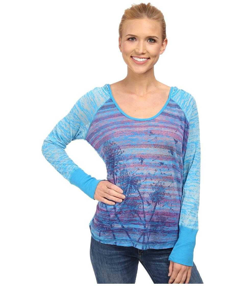 Prana - Aura Hoodie (Danube Blue) Women's Sweatshirt