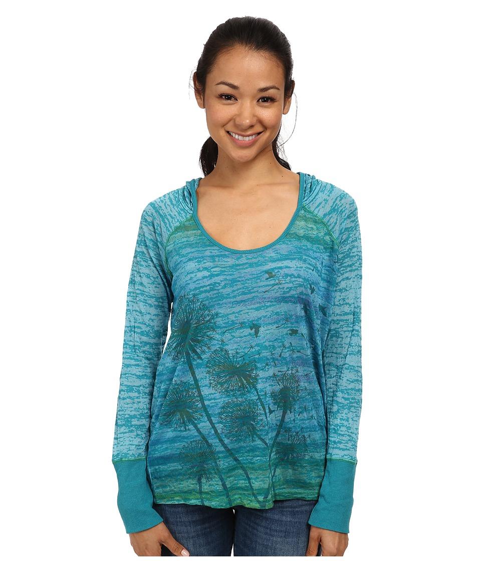 Prana - Aura Hoodie (Dynasty Green) Women's Sweatshirt