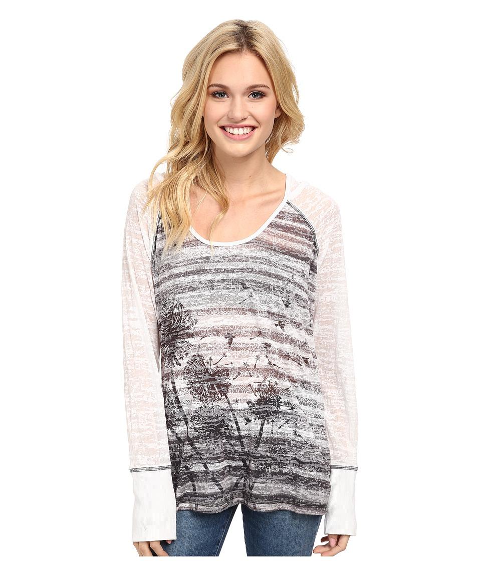 Prana - Aura Hoodie (White) Women's Sweatshirt