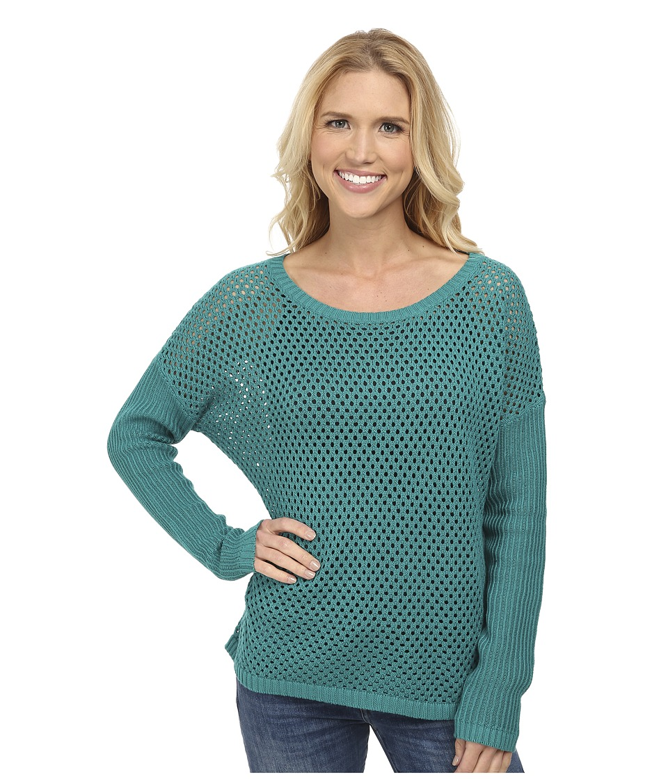 Prana - Parker Sweater (Sea Green) Women
