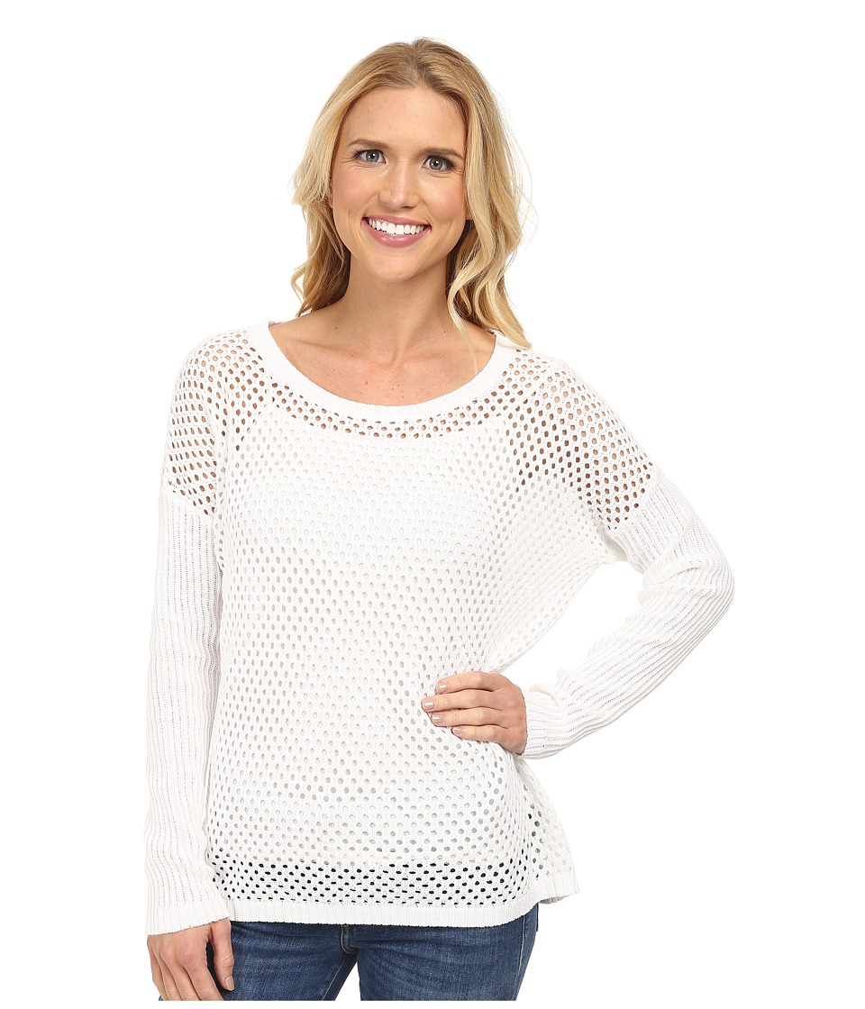 Prana - Parker Sweater (White) Women's Sweater