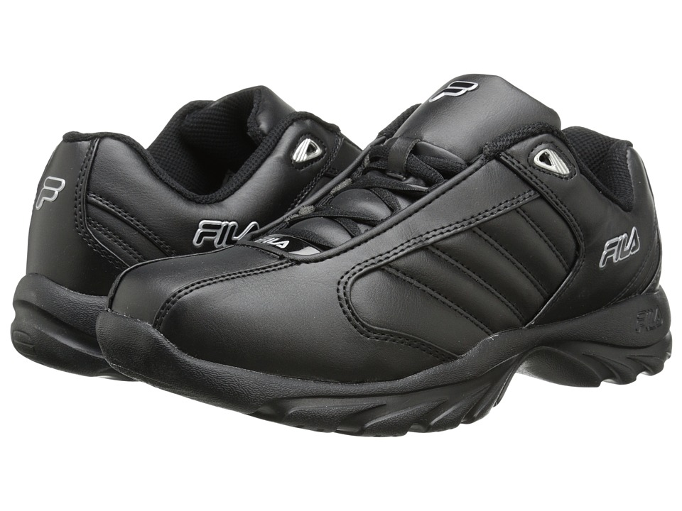 Fila - Torino 3 (Black/Black/Metallic Silver) Men's Shoes