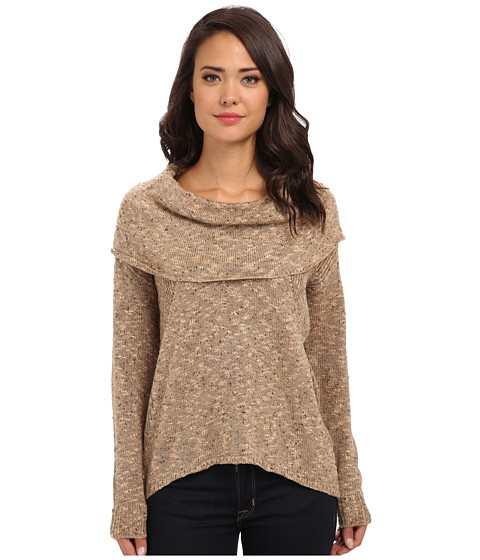 kensie - Flecked Slub Sweater KS0K5570 (Chai Combo) Women