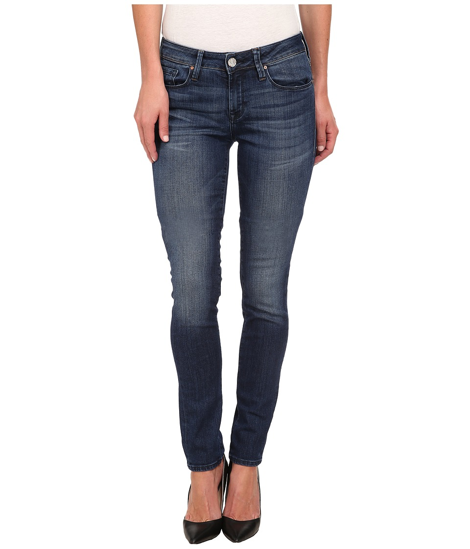Mavi Jeans - Alexa Midrise Skinny in Dark Used Nolita (Dark Used Nolita) Women's Jeans