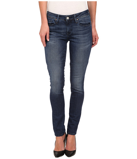 Mavi Jeans - Alexa Midrise Skinny in Dark Used Nolita (Dark Used Nolita) Women