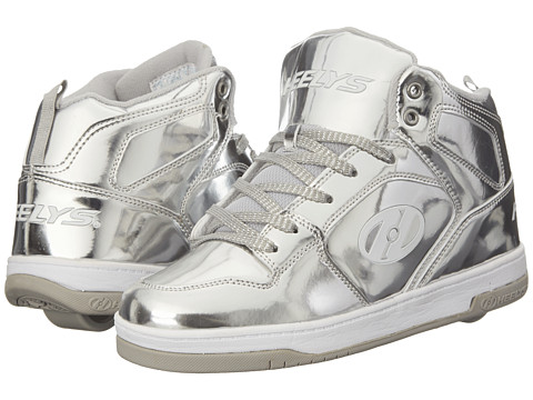 Heelys - Flash Chrome (Little Kid/Big Kid/Women's) (Silver) Girls Shoes