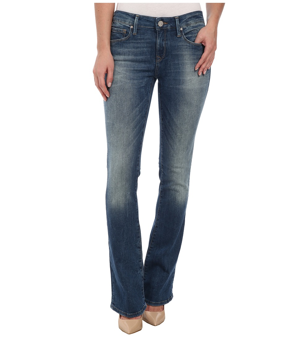 Mavi Jeans - Leigh Midrise Slim Bootcut in Shaded Nolita (Shaded Nolita) Women's Jeans
