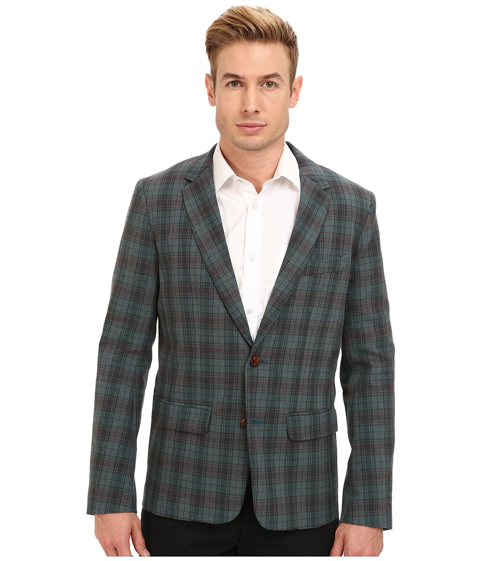 Mr.Turk - Roman Blazer (Turquoise) Men's Jacket
