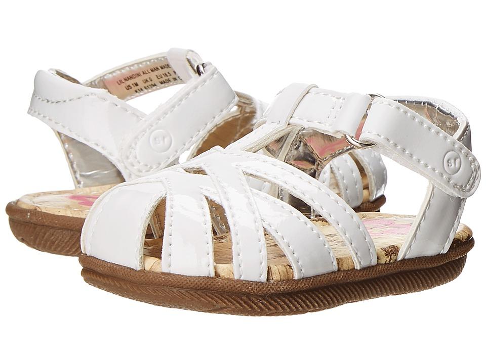 Stride Rite - Lil Nandini (Infant) (White) Girls Shoes