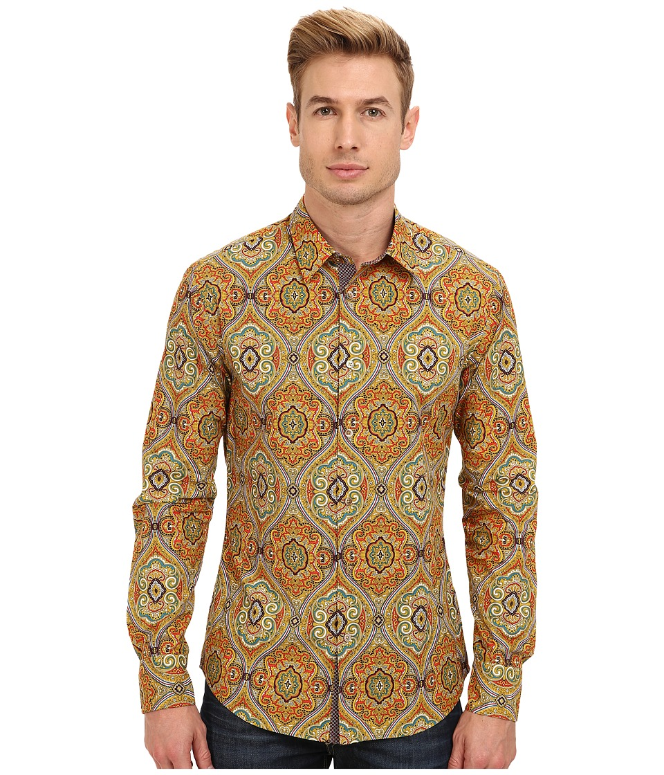 Mr.Turk - Aaron 2 Shirt (Golden) Men's Long Sleeve Button Up