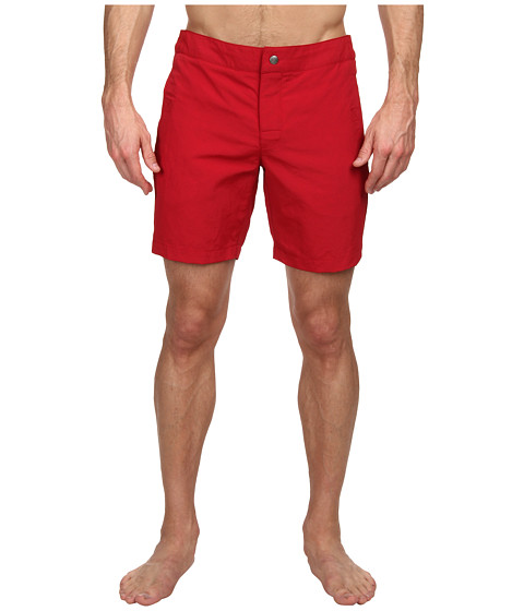 Mr.Turk - Safari Board Short (Red) Men's Swimwear