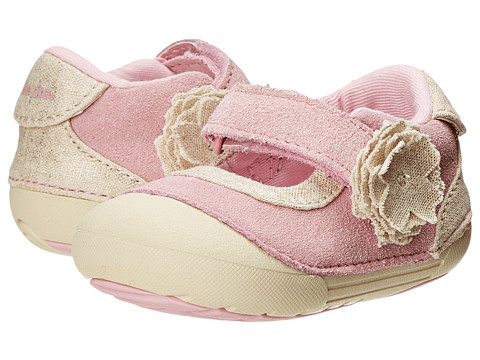 Stride Rite - SRT SM Margot (Infant/Toddler) (Pink/Champagne) Girls Shoes