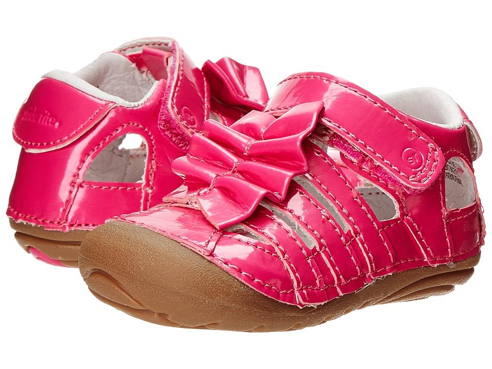 Stride Rite - SRT SM Nisha (Infant/Toddler) (Pink) Girls Shoes