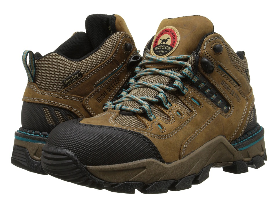 Irish Setter WP Alum Toe Hiker 83204 (Brown) Women