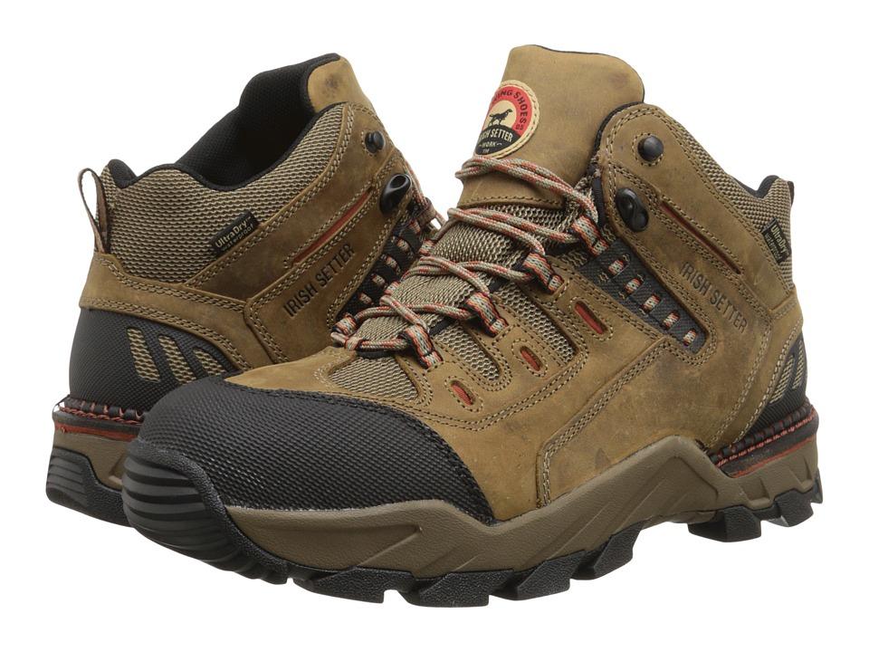 Irish Setter - WP Alum Toe Hiker 83404 (Brown) Men's Shoes