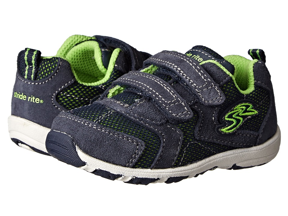 Stride Rite - Kingston (Toddler) (Navy) Boys Shoes