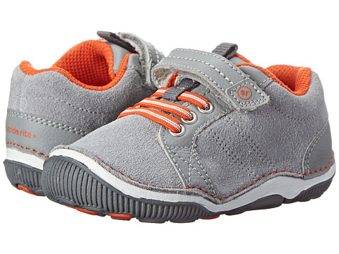 Stride Rite - SRT Daniel (Toddler) (Grey/Orange) Boys Shoes
