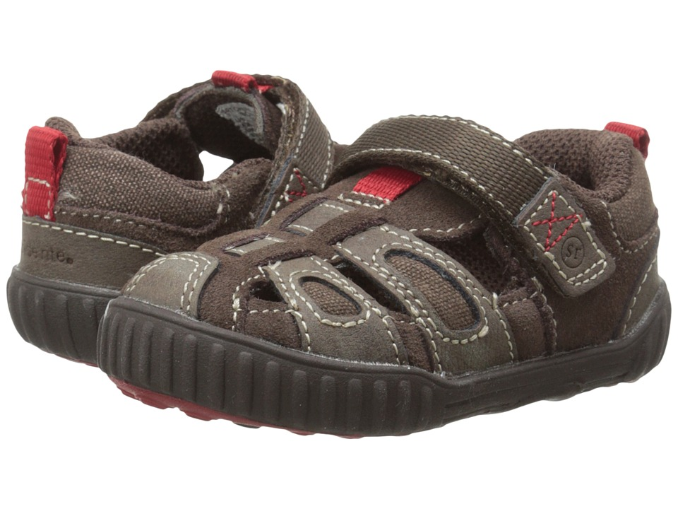 Stride Rite - SRT Churchill (Toddler) (Brown) Boys Shoes