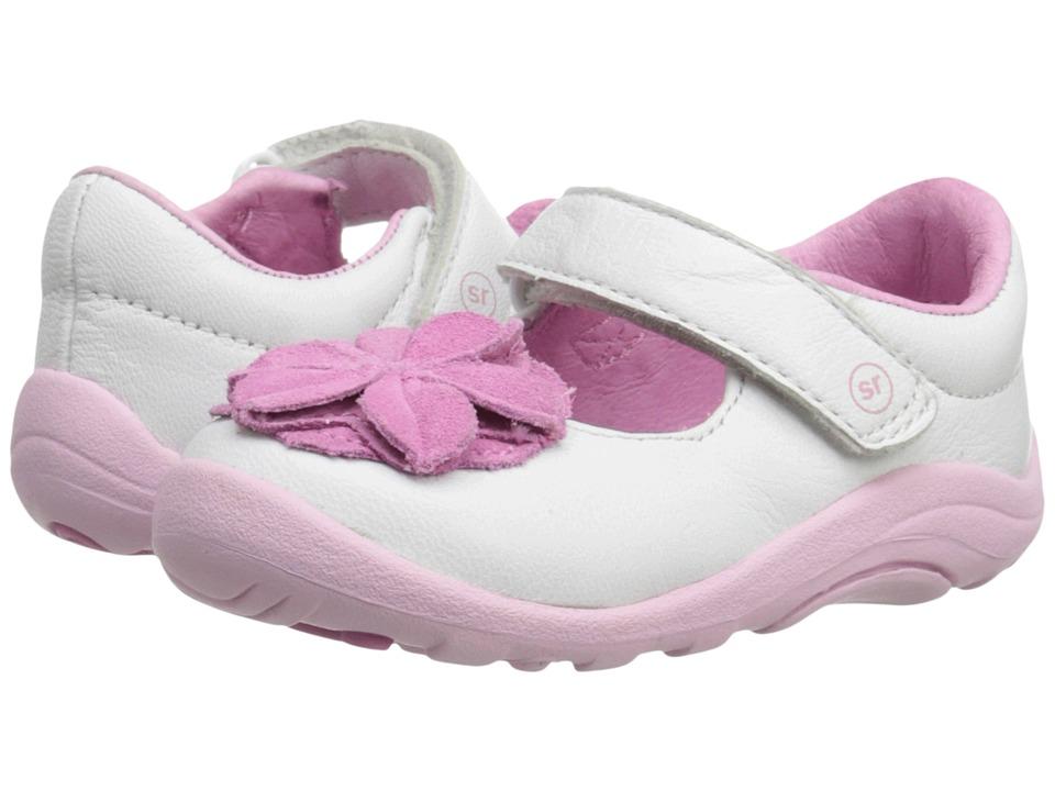 Stride Rite - SRT Lana (Toddler) (White/Pink) Girl's Shoes