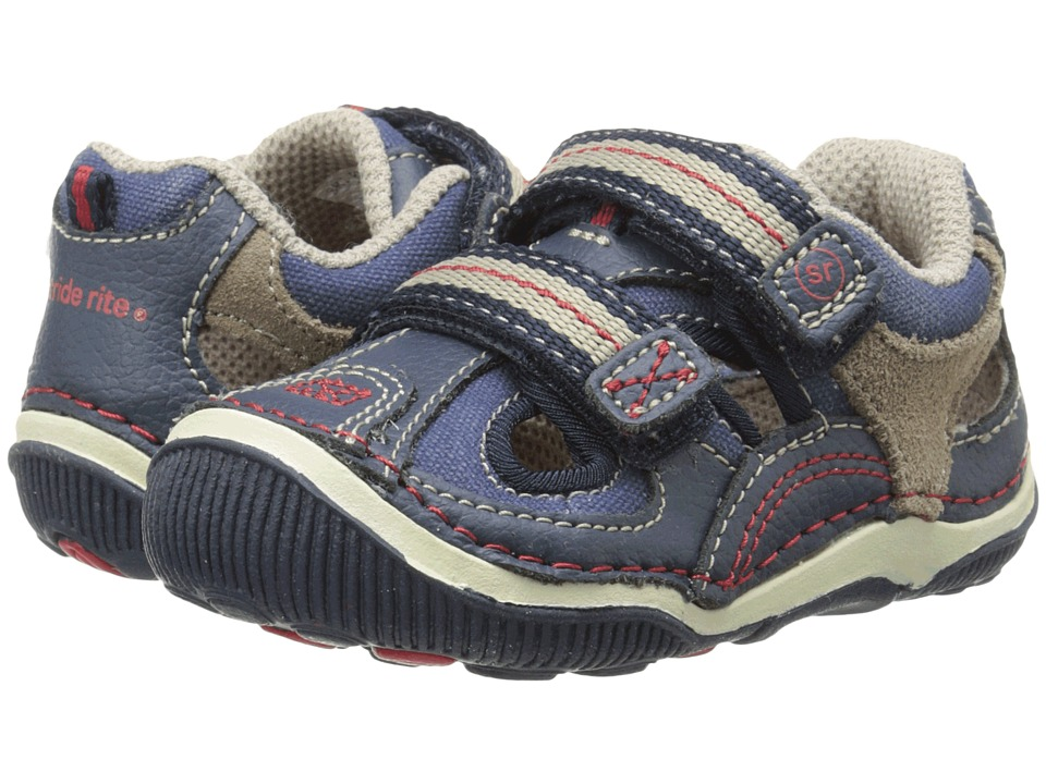 Stride Rite - SRT Ruben (Toddler) (Navy 1) Boys Shoes