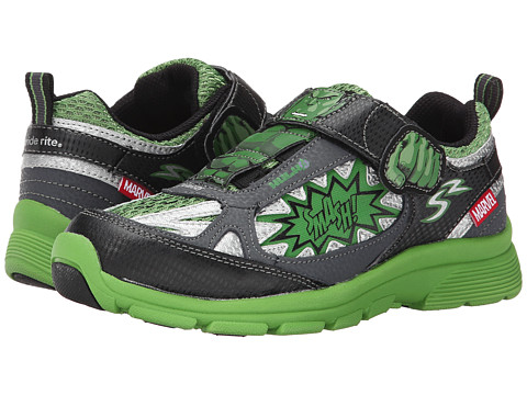 Stride Rite - Marvel Avengers - Hulk (Little Kid) (Green/Black) Boys Shoes