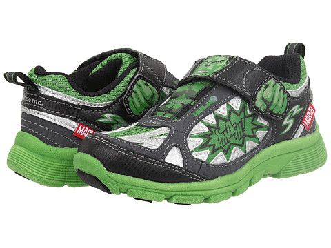 Stride Rite - Marvel Avengers - Hulk (Toddler/Little Kid) (Green/Black) Boys Shoes