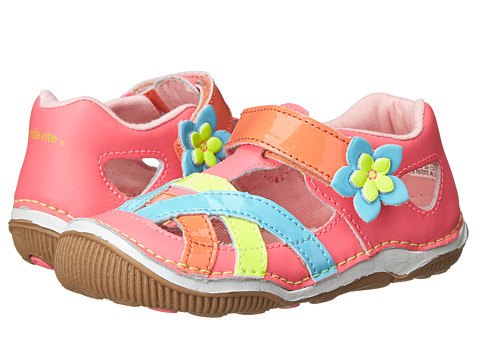 Stride Rite - SRT Juno (Toddler) (Pink/Multi) Girls Shoes