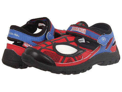 Stride Rite - Spider-Man Webbed Wonder (Toddler/Little Kid) (Red/Blue) Boys Shoes