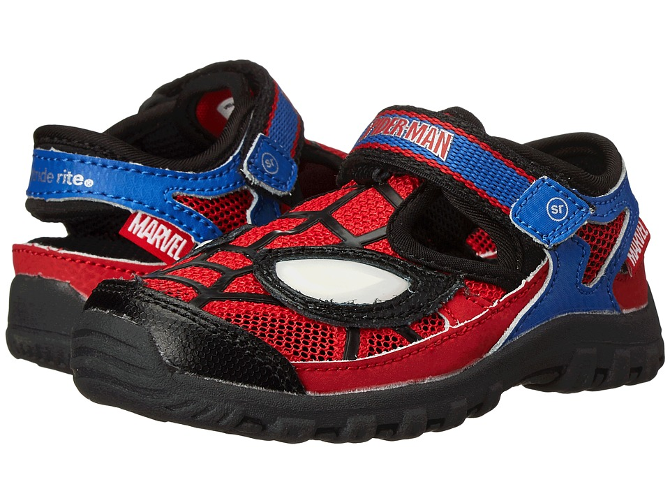 Stride Rite - Spider-Man Webbed Wonder (Toddler) (Red/Blue) Boys Shoes