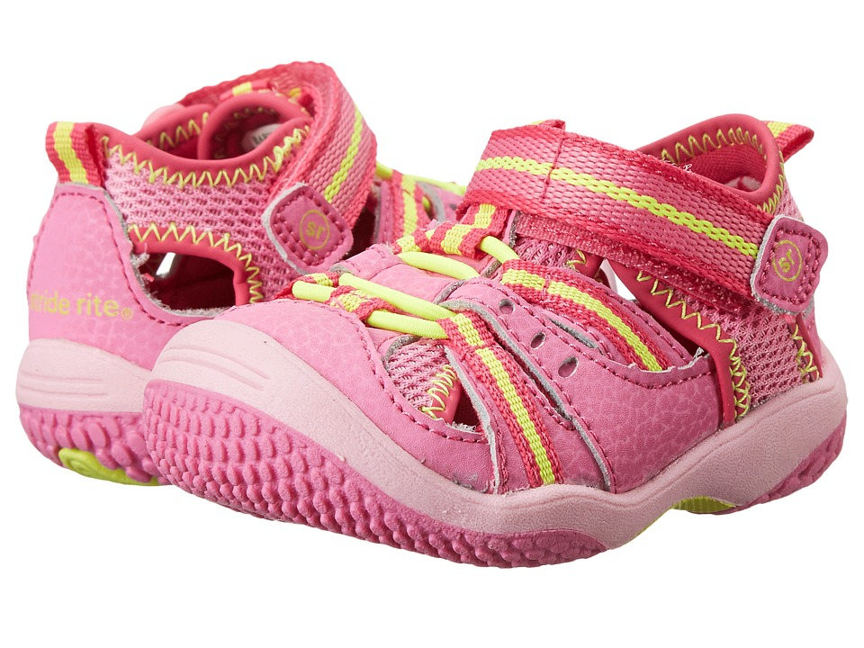 Stride Rite - Baby Petra (Infant/Toddler) (Pink) Girl's Shoes