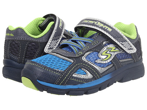 Stride Rite - Racer Lights Lightning (Toddler) (Blue/Green) Boys Shoes