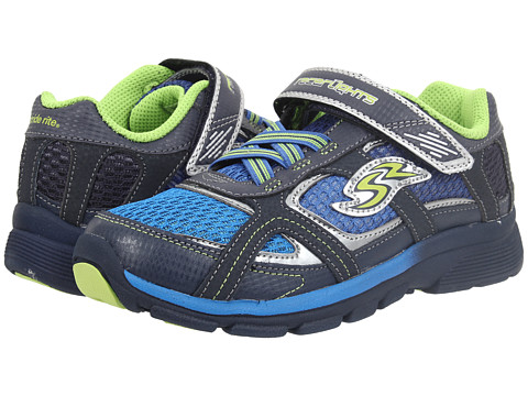 Stride Rite - Racer Lights Lightning (Little Kid) (Blue/Green) Boys Shoes