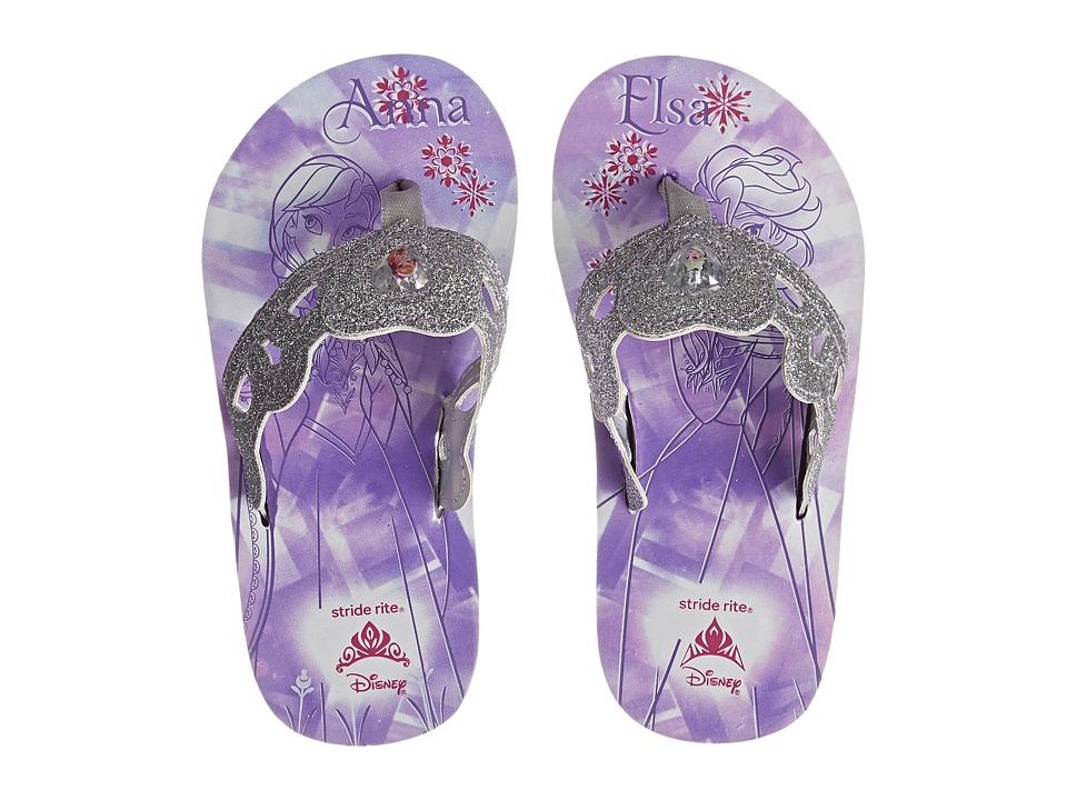 Stride Rite Anna Elsa Eva (Toddler/Little Kid) (Purple) Girls Shoes