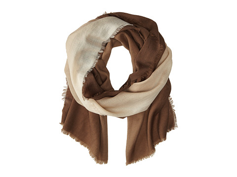 Vera Bradley - Soft Wool Scarf (Ombre Taupe) Scarves